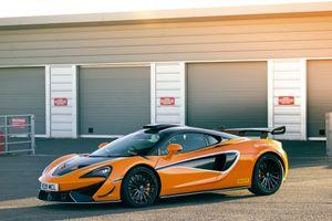 Фото бесплатно авто, Mclaren, оранжевый