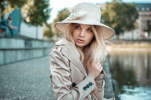 Фото бесплатно лицо, белый, женщины на улице