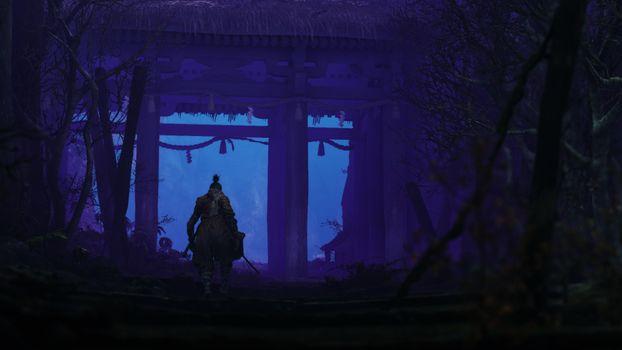 Заставки игры, Sekiro Shadows Die Twice, 2019 Games