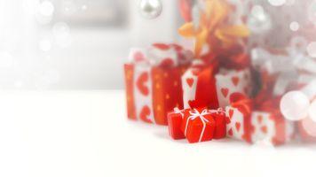 Фото бесплатно праздник, подарки, Новый год