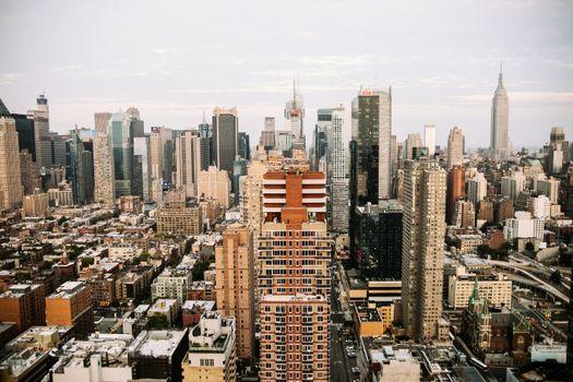 Photo free horizon, view, city