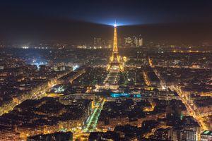 Фото бесплатно здания, ночь, городской пейзаж