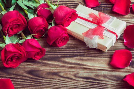 Photo free buds, roses, bokeh