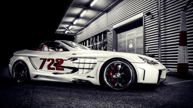 Фото бесплатно Mercedes, Mercedes Benz, белый