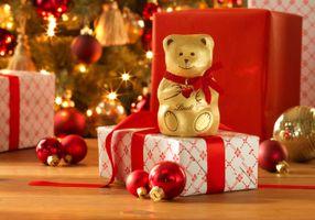 Бесплатные фото праздник,Новый год,подарки,novyy-god,rozhdestvo