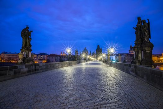 Photo free lights, Prague, architecture