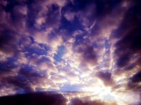 Фото бесплатно фильтр, фотошоп, небо