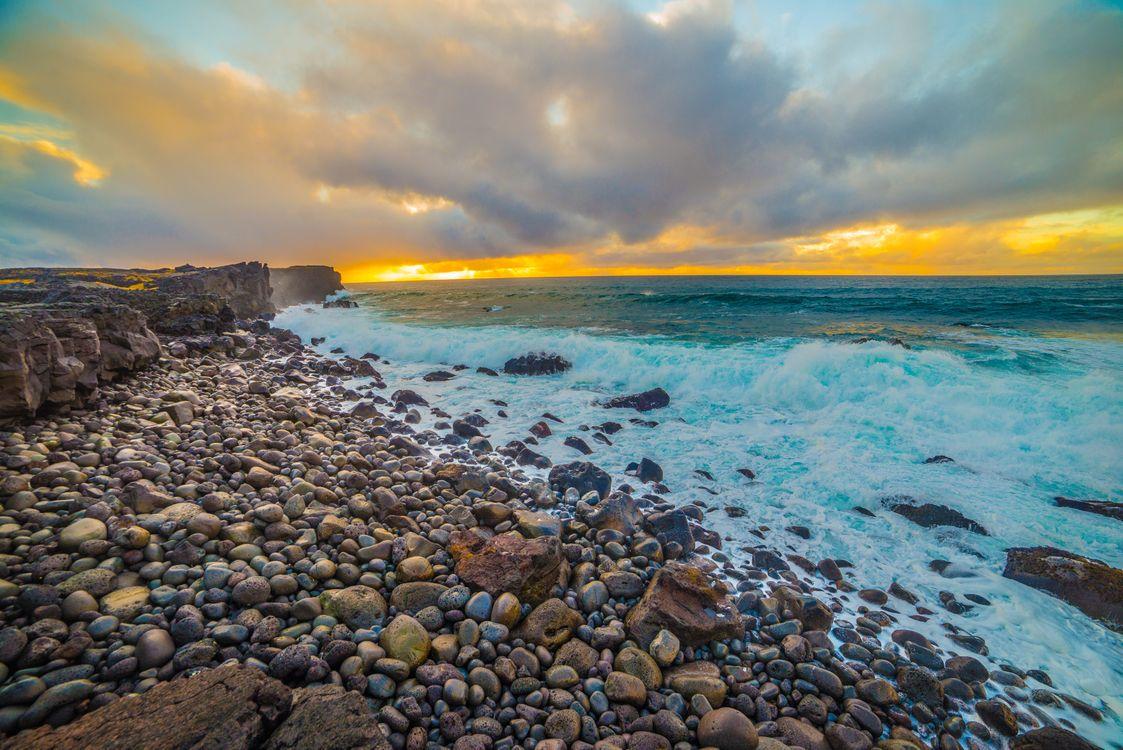 Каменистый берег · бесплатное фото