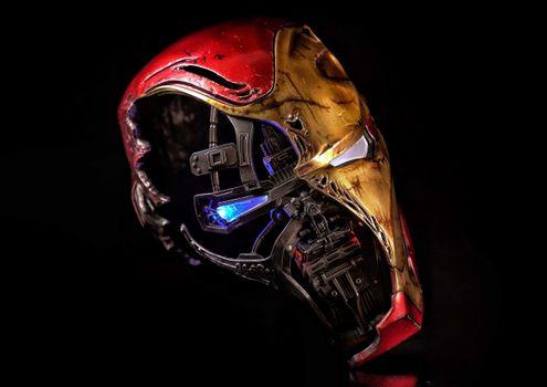 Фото бесплатно железный человек, супергерои, маска