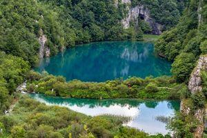 Бесплатные фото Plitvice Lakes National Park,Croatia,Национальный парк Плитвицкие озера,Хорватия,пейзаж