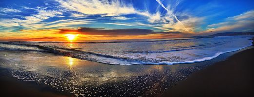 Бесплатные фото пляж,спокойные,облака,рассвет,сумерки,природа,океан