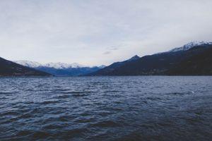Заставки море, горы, небо