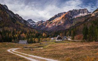 Словения Альпы · бесплатное фото