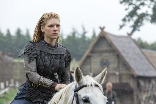 Фото бесплатно лошадь, фильмы, викинги