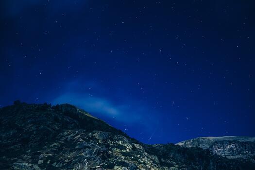 Photo free night sky, atmosphere, night