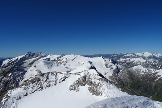 Photo free mountains, winter, view from above