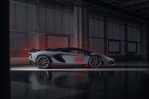 Фото бесплатно автомобили 2020 года, Lamborghini Aventador SVJ, Ламборгини Авентадор
