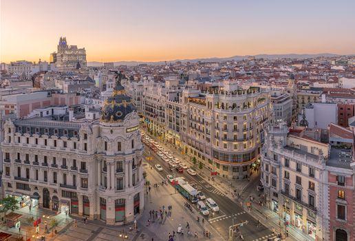 Заставки Metropolis, Madrid, Spain