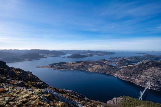 Photo free mountains Norway, fjord, nature
