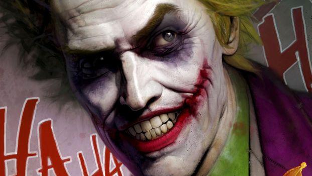 Photo free joker, superheroes, artwork
