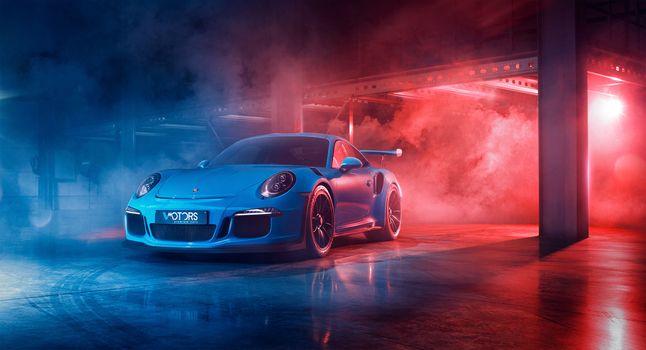 Фото бесплатно Porsche 911 GT3 R, Porsche 911, Porsche