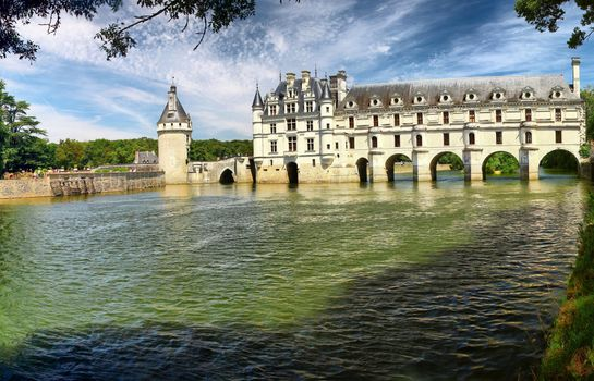 Photo free cities, France, castle