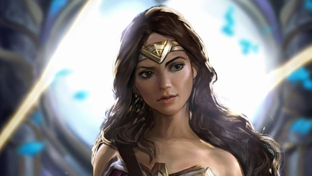 Заставки Deviantart, работа, Wonder Woman
