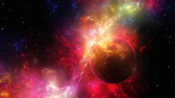 Фото бесплатно Nebula, Digital Universe, космос