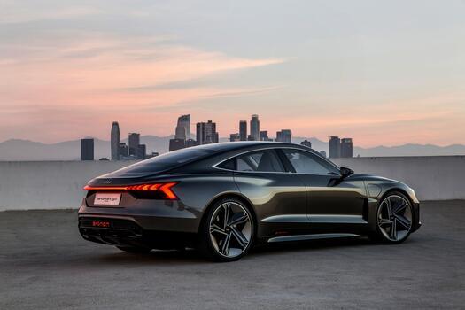Фото бесплатно Audi e-tron, Audi, автомобили 2019 года