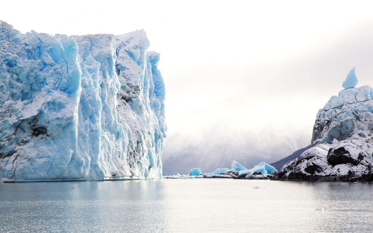 Фото бесплатно айсберг, океан, аргентина - на рабочий стол