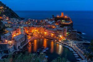 Фото бесплатно Вернацца, Vernazza, Лигурия, Италия