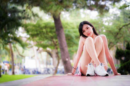 Фото бесплатно ноги, сидя, ноги девушки