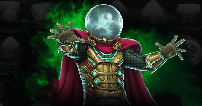 Фото бесплатно Marvel, Mysterio, Marvel Contest Of Champions