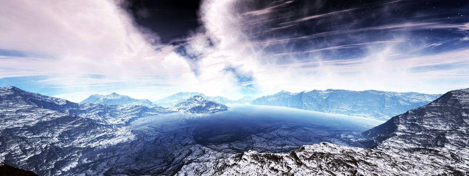 Фото бесплатно саммит, горы, пейзаж