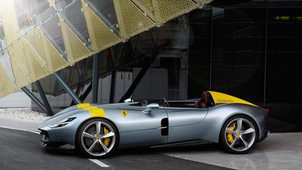 Фото бесплатно Ferrari Monza Sp1, Ferrari, автомобили