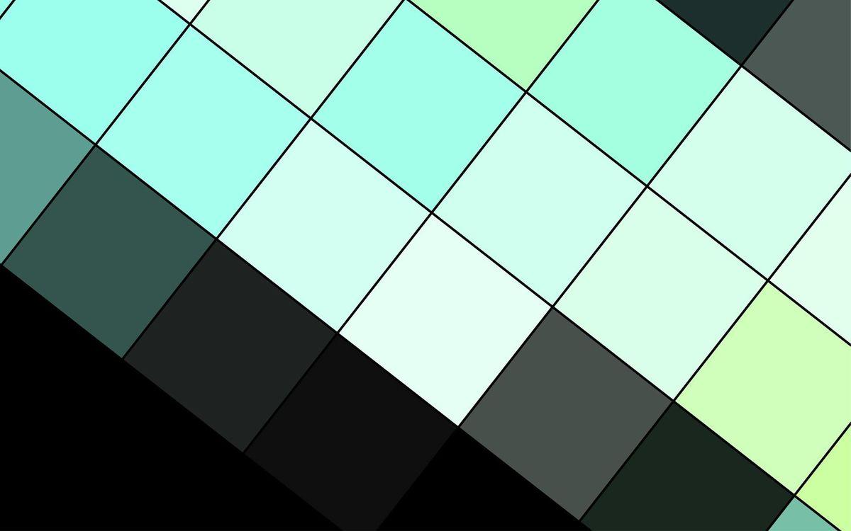 Фото бесплатно геометрия, черный, аквамариновый - на рабочий стол