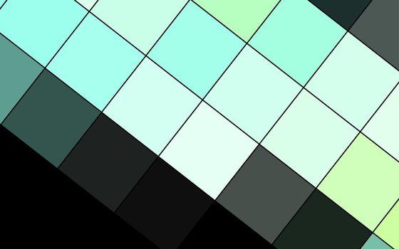 Photo free geometry, black, aquamarine