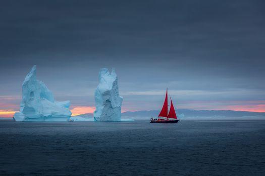 Photo free Arctic Fairytale, Greenland, sea