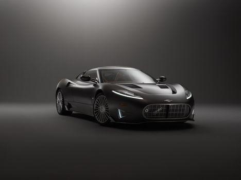 Photo free automobiles, Spyker, black