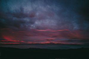 Фото бесплатно небо, облака, вечер