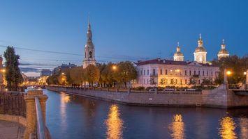 Обои Свято-Николаевский собор, Санкт-Петербург