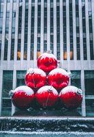 Фото бесплатно шары, красный, скульптура, balls, red, sculpture