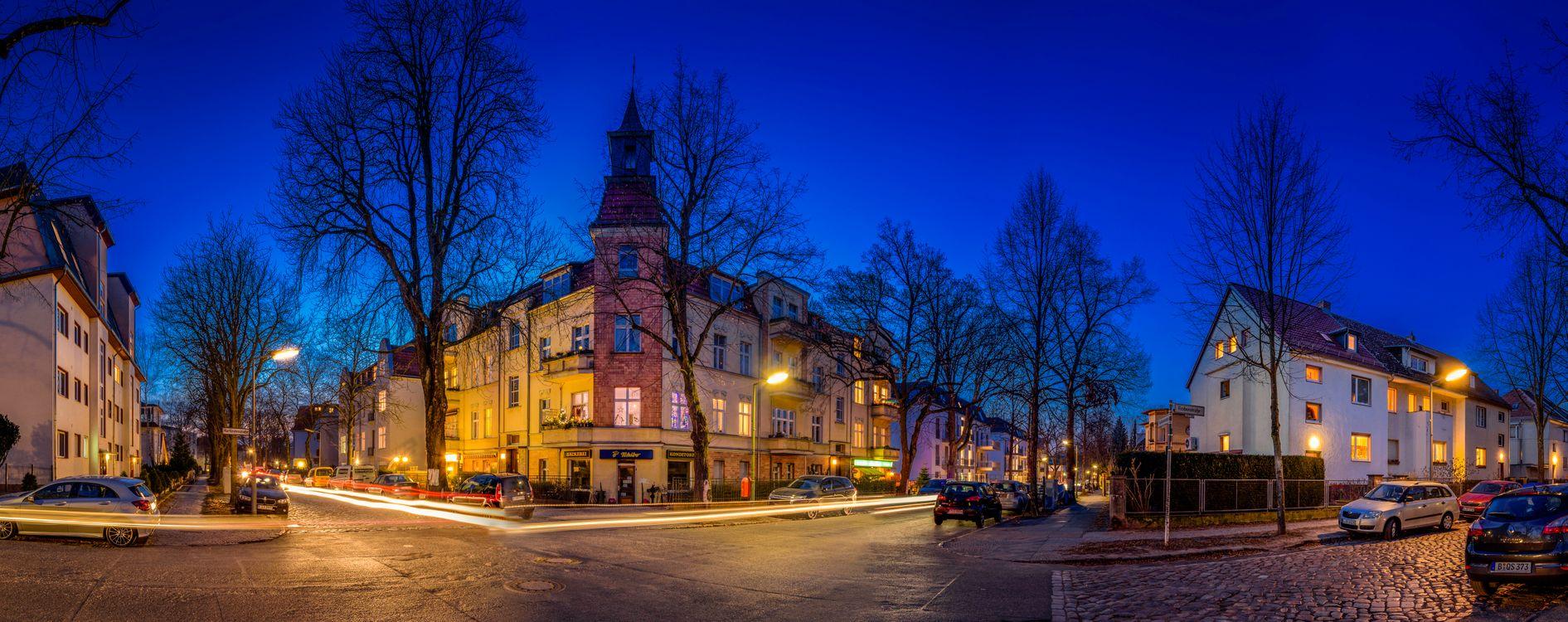 Фото бесплатно дороги, освещение, Германия - на рабочий стол