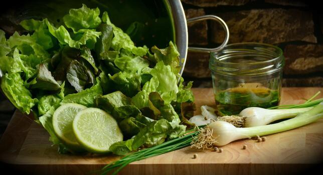 Photo free food, salad, kitchen