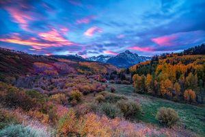 Фото бесплатно Горы Сан-Хуан, Колорадо, горы