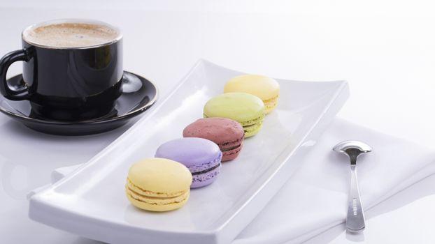 Фото бесплатно тарелка, кофе, печенье