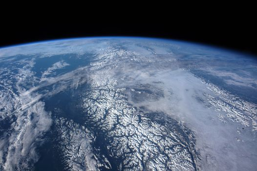 Photo free flyover, international space station, Canada