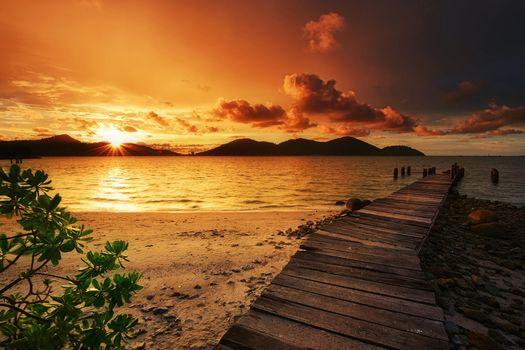 Бесплатные фото Остров Марина,Малайзия,море,закат,пляж,берег,пейзаж