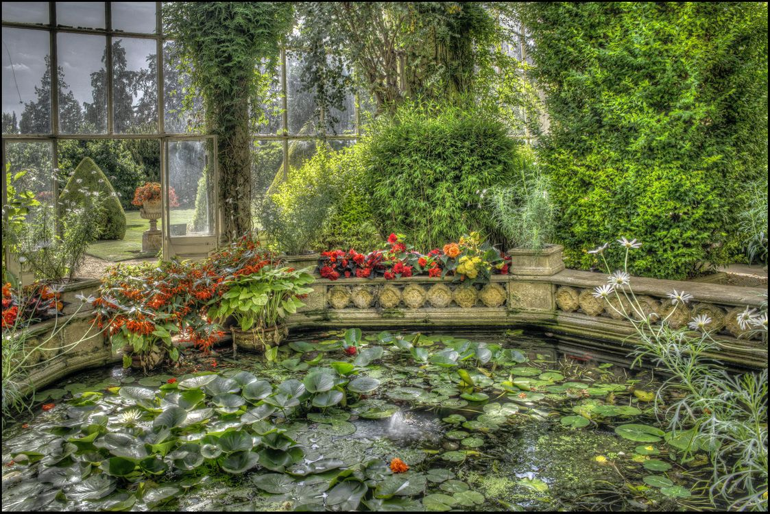 Фото бесплатно Castle Ashby Orangery, Замок Эшби Оранжерея - на рабочий стол