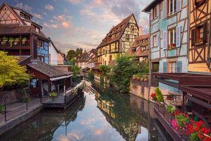 Бесплатные фото City of Colmar,France,Город Кольмар,Франция